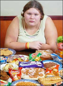 Obese teenage girls are 3x more likely to have high blood pressure
