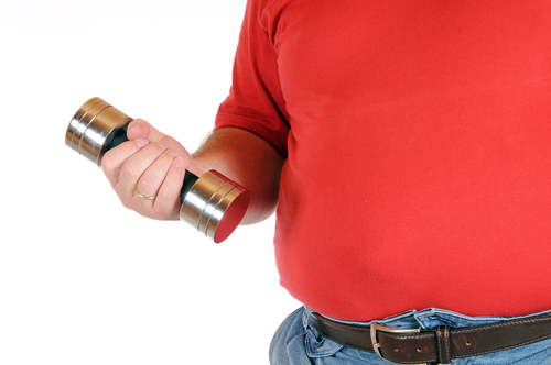 effect of obesity on muscles